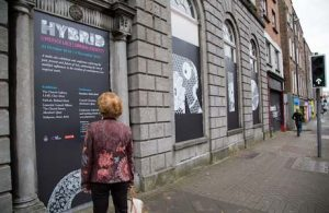 25.10.2016 A major exhibition centred on Limerick Lace has opened in the city. The Fablab. 'Hybrid; Limerick Lace Liminal Identity' reflects the fact Limerick lace is a hybrid lace, it is both a handmade and a machine made lace as the lace is embroidered on a machine made net. This coming together of old and new technology to make something beautiful has been the defining aspect of Limerick Lace. Picture: Alan Place